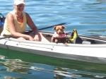 Kayak with your dog